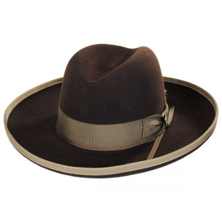 West Bound Firm Fur Felt Crossover Hat
