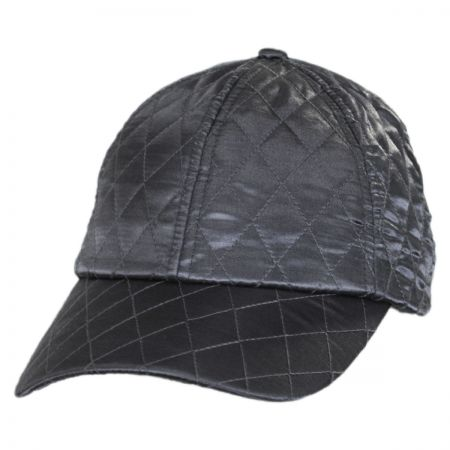 Quilted Satin Baseball Cap alternate view 5