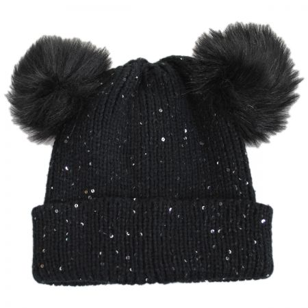 Pom Ears Beanie Hat alternate view 1