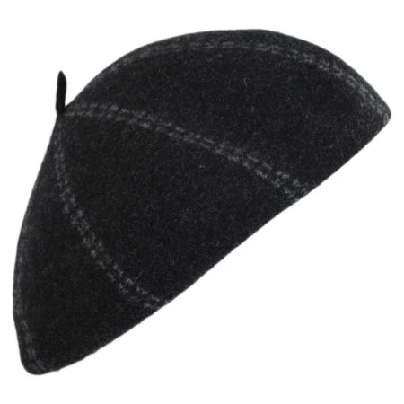 733e6a739b6dd5 Wool Beret at Village Hat Shop