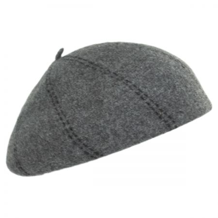 Boiled Wool Beret alternate view 4
