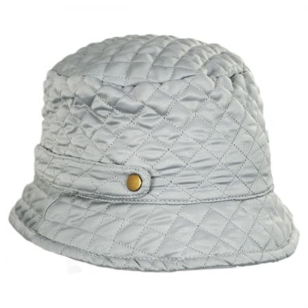 Quilted Rollup Rain Bucket Hat alternate view 1