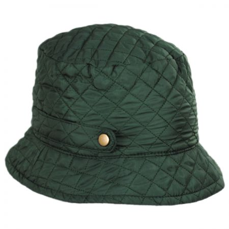 Scala Quilted Rollup Rain Bucket Hat