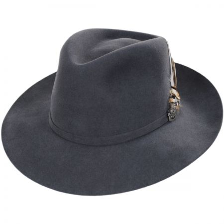 Wool Felt Fedora Hat at Village Hat Shop aa1c4608368