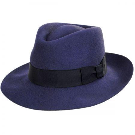 Egan Fur Felt Fedora Hat alternate view 1