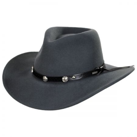 Wild Flush Wool Felt Western Hat