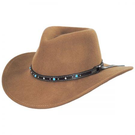 Eddy Bros Destry Wool Western Hat