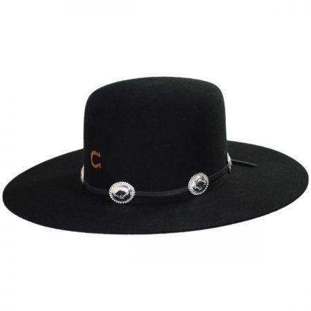 Charlie 1 Horse Stage Coach 5X Wool Felt Western Hat