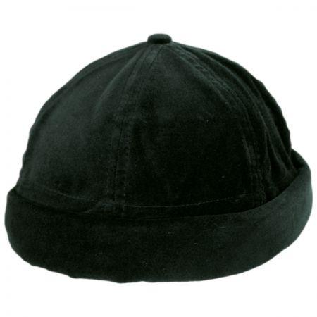 EK Collection by New Era Velvet Cotton Skull Cap