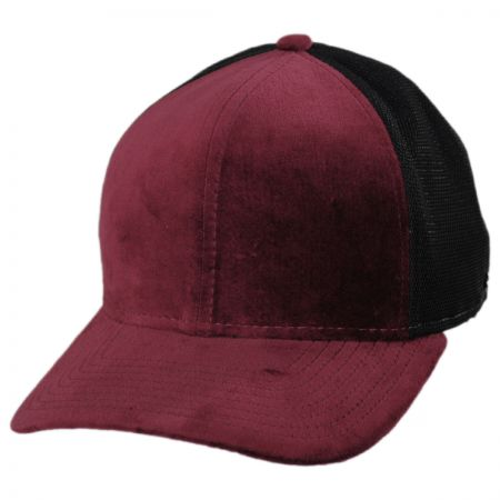 EK Collection by New Era Velvet Trucker Original Fit 9Fifty Strapback Baseball Cap