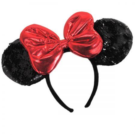 Minnie Mouse Sequin Ears Headband