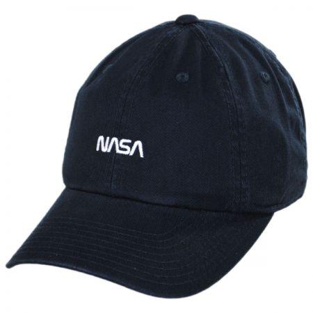 6105a9b87ba33c American Needle NASA Micro Cotton Strapback Baseball Cap. 100% Cotton