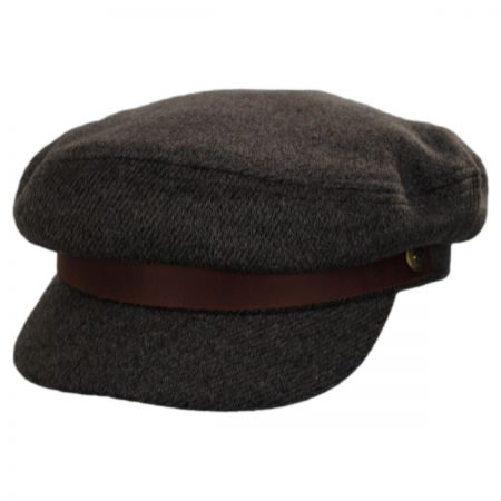 Tweed Wool Blend Fiddler Cap alternate view 1