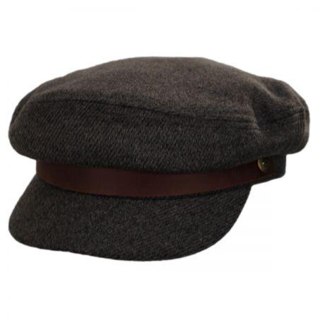 Tweed Wool Blend Fiddler Cap alternate view 8