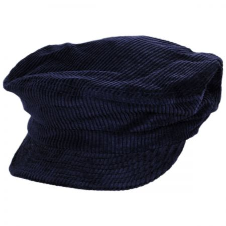 Unstructured Cotton Fiddler Cap alternate view 100