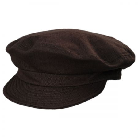 Unstructured Cotton Fiddler Cap alternate view 10