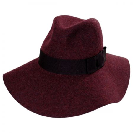 Piper Wool Felt Floppy Fedora Hat alternate view 9