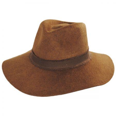 Brixton Hats Ella Wool Felt Fedora Hat ff5f6db39ec4