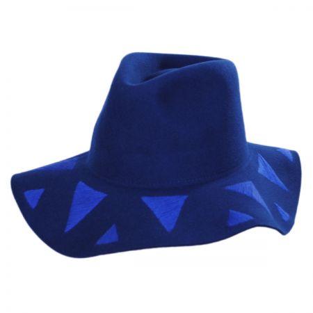 Brixton Hats Corey Wool Felt Floppy Hat