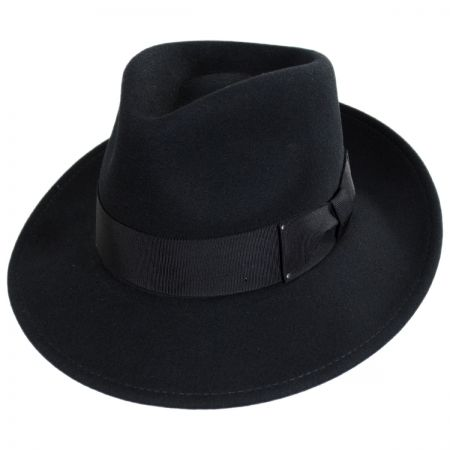 Packable Litefelt Wool Fedora Hat