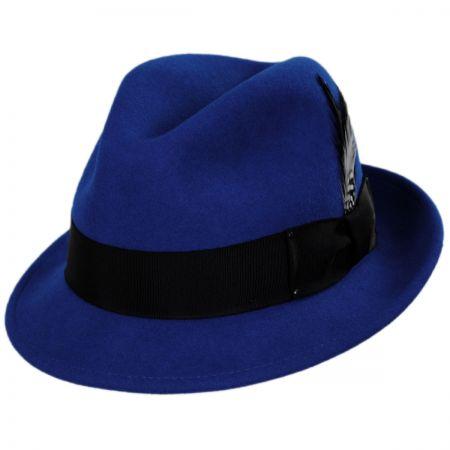 Tino Wool Felt Trilby Fedora Hat - VHS Exclusive Colors alternate view 7