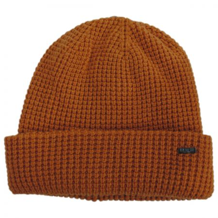 Waffle Wool Blend Beanie Hat alternate view 5