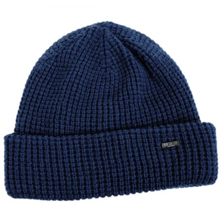 Waffle Wool Blend Beanie Hat alternate view 3