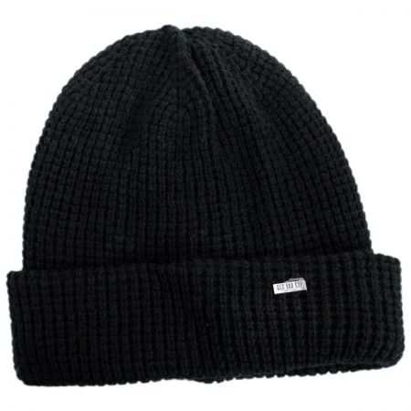 Waffle Wool Blend Beanie Hat alternate view 1