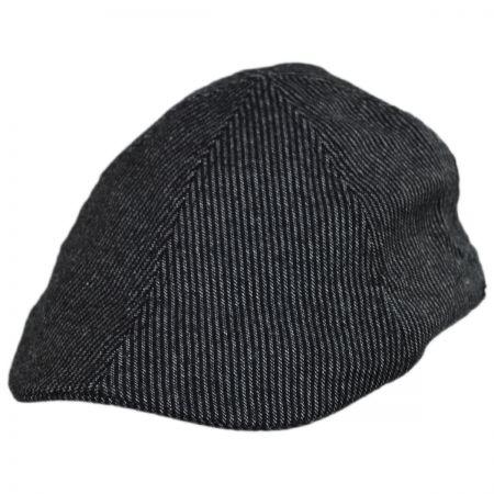 5192d0d5f Pinstripe Wool and Cotton Blend Duckbill Cap