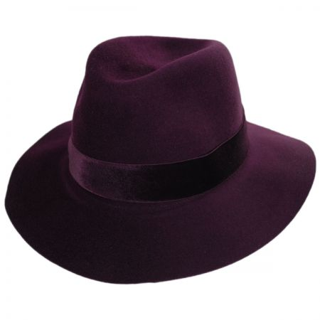 Izette II Wool LiteFelt Fedora Hat alternate view 5