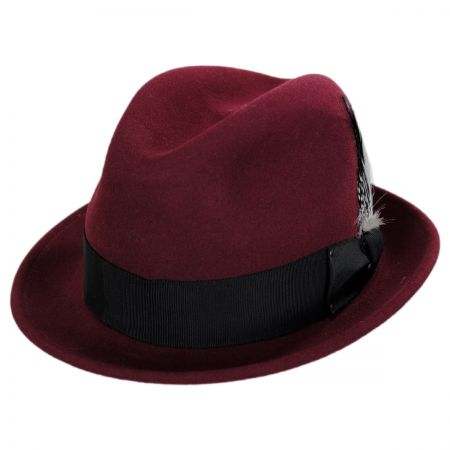 Tino Wool Felt Trilby Fedora Hat alternate view 18