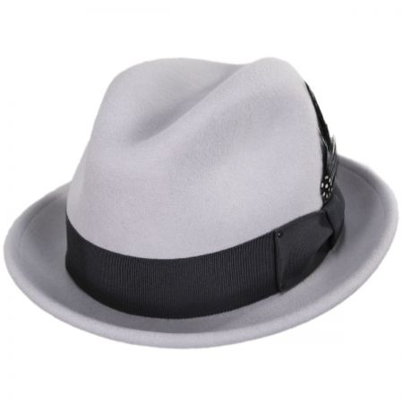 Tino Wool Felt Trilby Fedora Hat alternate view 90