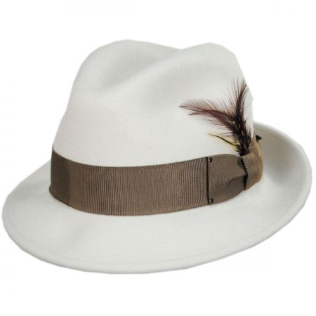 343a84b0164 White Felt Hat at Village Hat Shop