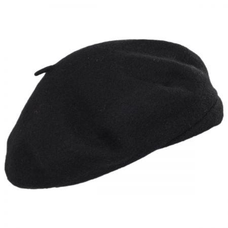 91b9bad775c2c Black Beret at Village Hat Shop