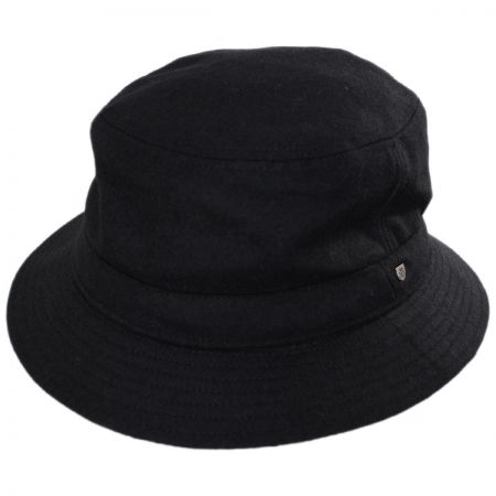 Brixton Hats Burroughs Wool Blend Bucket Hat
