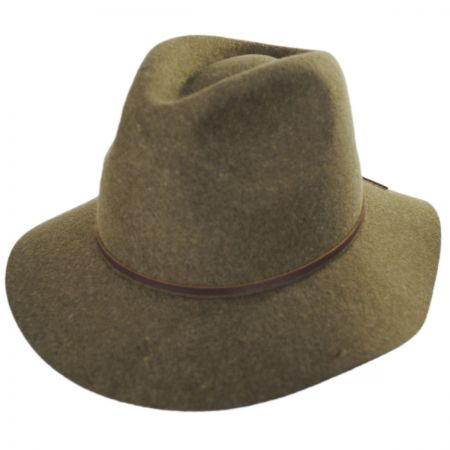 Wesley Wool Felt Floppy Fedora Hat alternate view 5