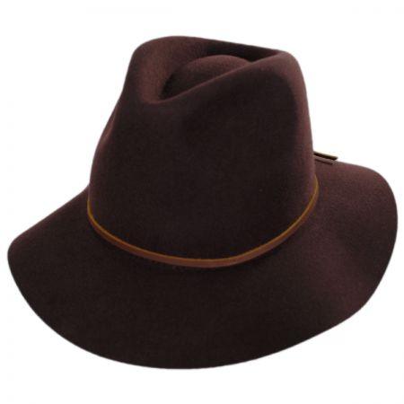 Wesley Wool Felt Floppy Fedora Hat alternate view 2