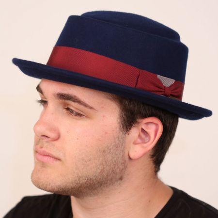 Wool Felt Porkpie Hat alternate view 1