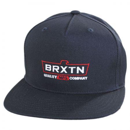 Brixton Hats Cruss Snapback Baseball Cap