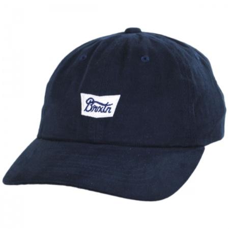 Brixton Hats Stith Lo-Pro Strapback Baseball Cap