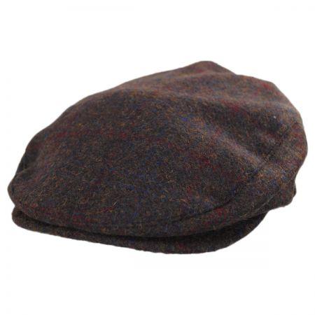 Barrel Herringbone Tweed Wool Blend Ivy Cap