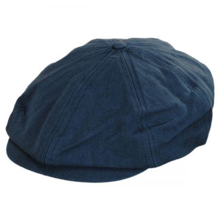 Brixton Hats Brood Cotton Newsboy Cap
