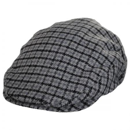 Brixton Hats Hooligan Plaid Wool Blend Ivy Cap