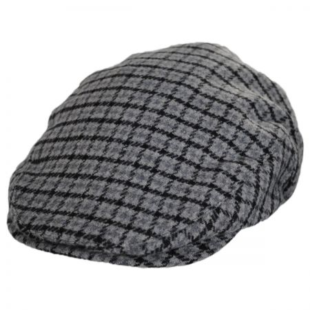 Hooligan Plaid Wool Blend Ivy Cap