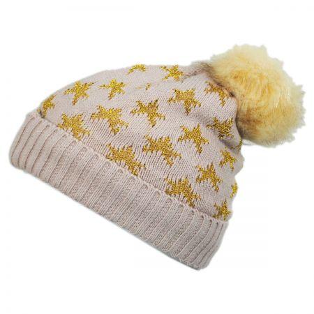 Something Special Lurex Star Beanie Hat
