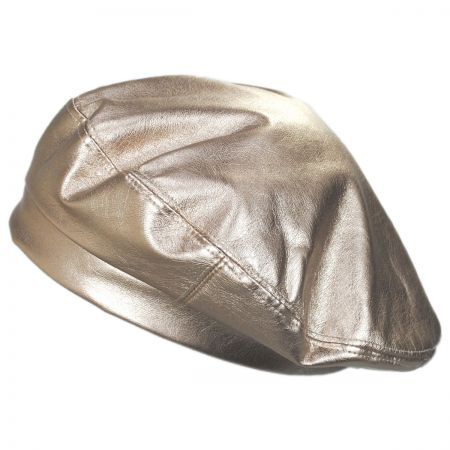 Something Special Pleather Beret