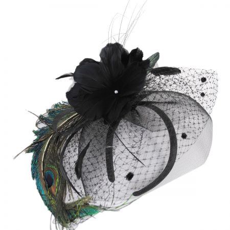 Toucan Collection Peacock Fascinator