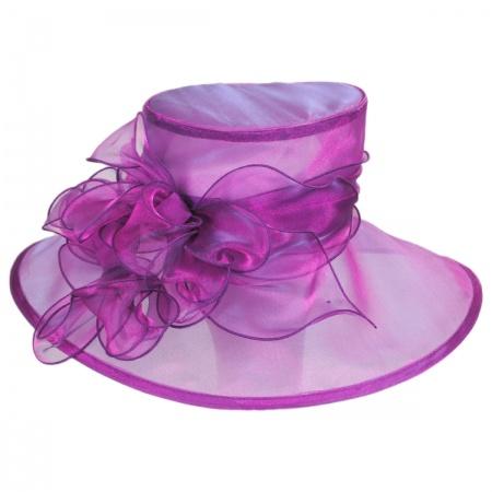 Laurelie Organza Boater Hat alternate view 5