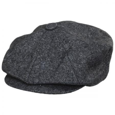 84cedb978b30 Wool Flat Cap at Village Hat Shop