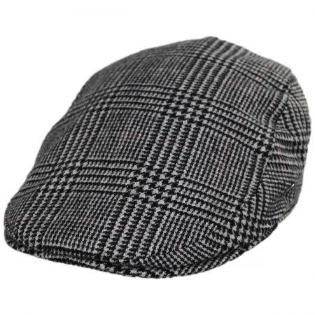 City Sport Caps Cashmere and Wool Glencheck Ivy Cap